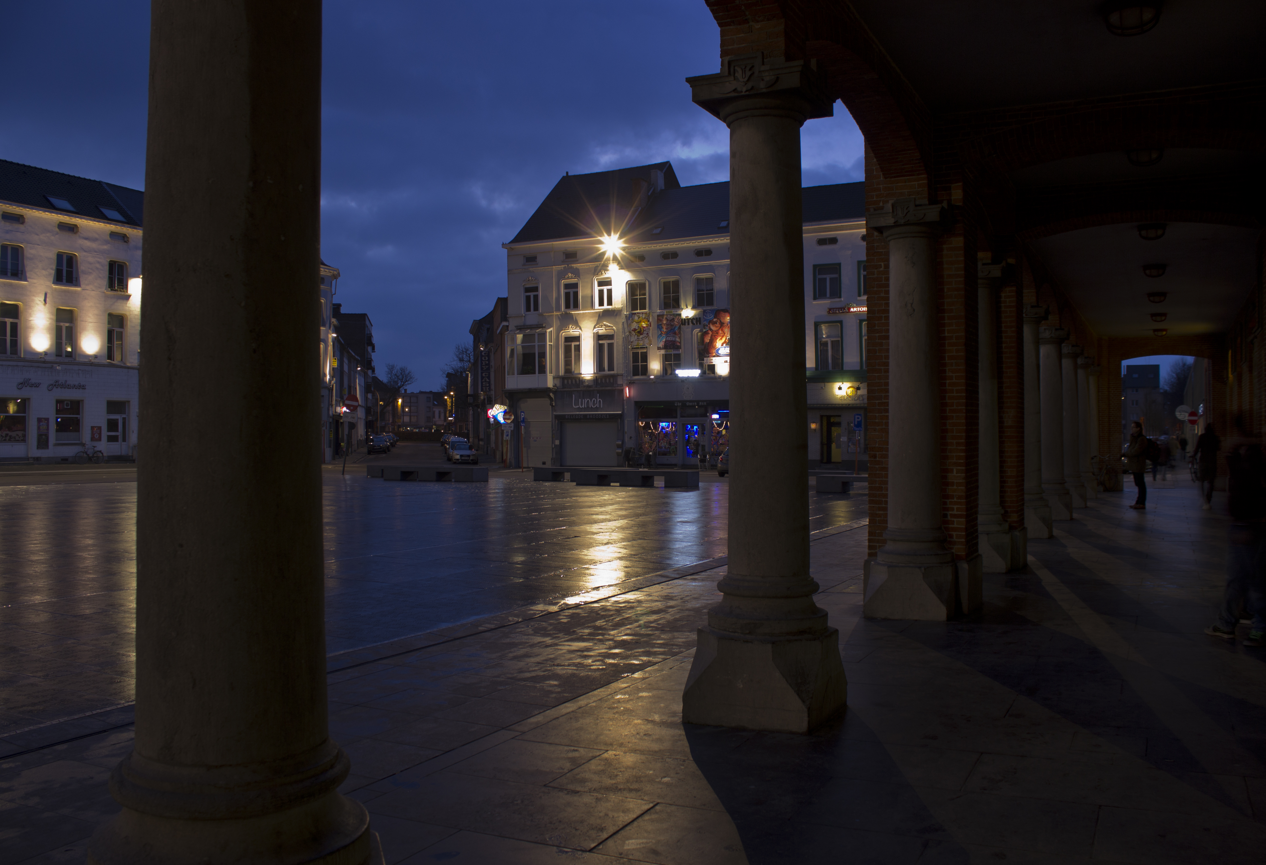 Aalst by night
